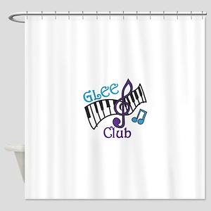 Glee Club Shower Curtain