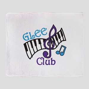 Glee Club Throw Blanket