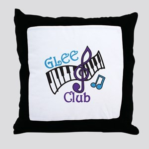 Glee Club Throw Pillow