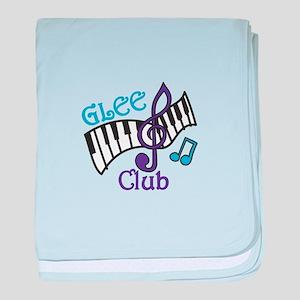 Glee Club baby blanket