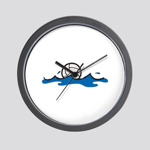 Water Polo Ball Wall Clock