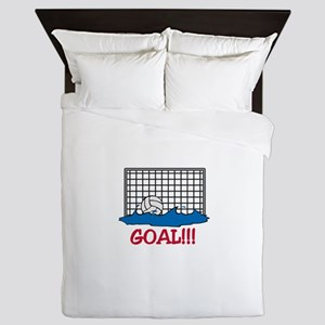 Water Polo Goal Queen Duvet