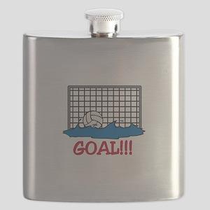 Water Polo Goal Flask