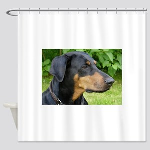 dobie 2 Shower Curtain