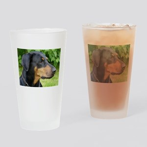 dobie 2 Drinking Glass