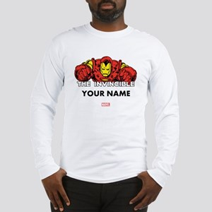 The Invincible Iron Man Person Long Sleeve T-Shirt