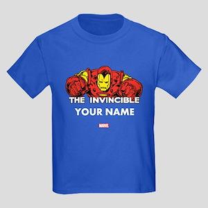 The Invincible Iron Man Personal Kids Dark T-Shirt