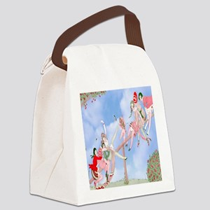 Gerda Wegener Game of Love Shower Canvas Lunch Bag
