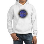 """Blue Moon Samhain"" Hooded Sweatshirt (front&back)"