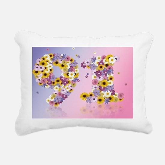 Unique Birthdays Rectangular Canvas Pillow