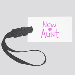 New Aunt Large Luggage Tag