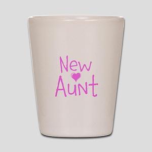New Aunt Shot Glass