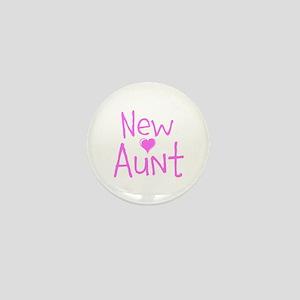 New Aunt Mini Button