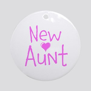 New Aunt Ornament (Round)