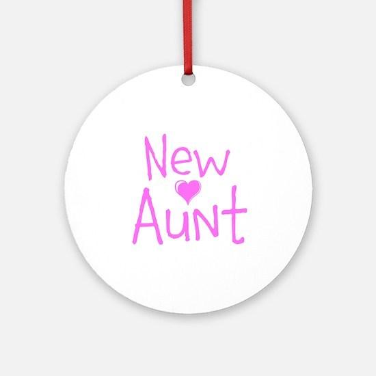 New Aunt Ornament (Round)