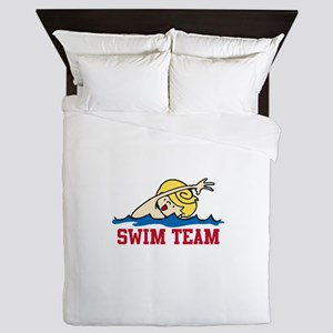 Swim Team Boy Queen Duvet