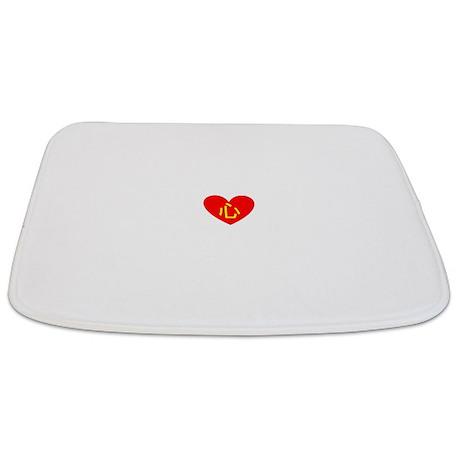 Heart Bathmat