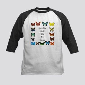 Something Lepid This Way Come Kids Baseball Jersey