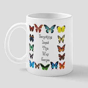 Something Lepid This Way Come Mug