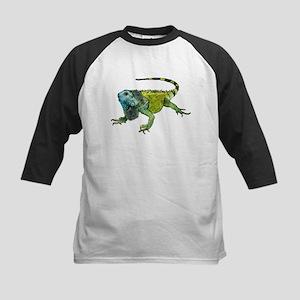 Gorgeous Green Iguana Baseball Jersey