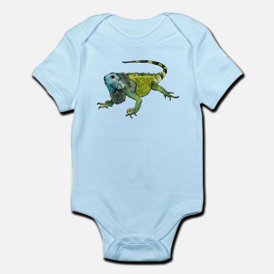 Gorgeous Green Iguana Body Suit