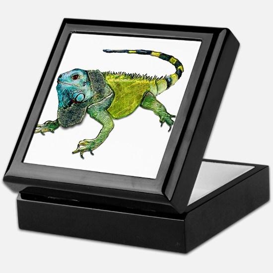 Unique Reptile Keepsake Box