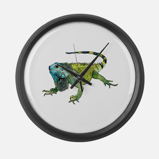 Unique Amphibians and reptiles Large Wall Clock