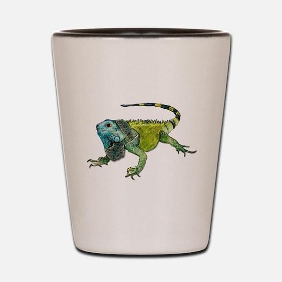 Cute Reptile Shot Glass