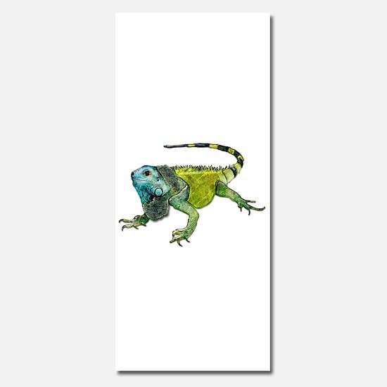 Gorgeous Green Iguana Invitations