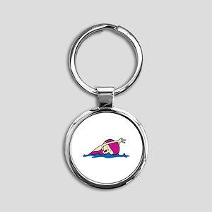 Swimmer Girl Keychains