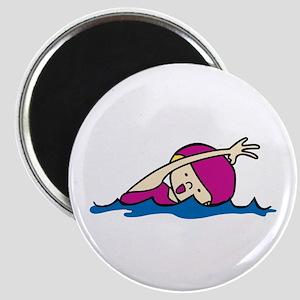 Swimmer Girl Magnets