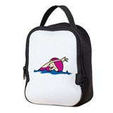 Swimmer Neoprene Lunch Bag