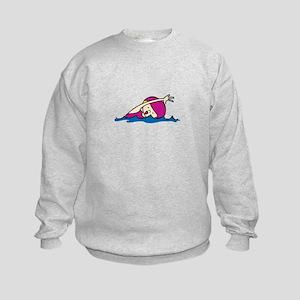 Swimmer Girl Sweatshirt