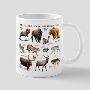 Mammals of Yellowstone National Park Mug