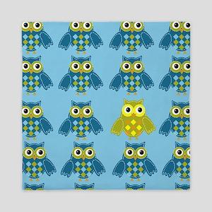 Owls Shower Curtain Queen Duvet