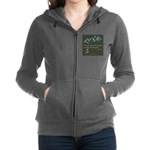 Never Lost in Mountains Women's Zip Hoodie
