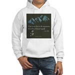 Never Lost in Mountains Hoodie