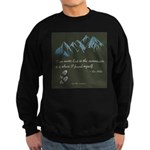 Never Lost in Mountains Sweatshirt