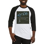 Never Lost in Mountains Baseball Jersey