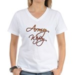 Army Wife Women's V-Neck T-Shirt