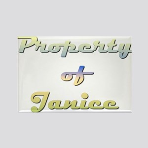 Property Of Janice Female Magnets