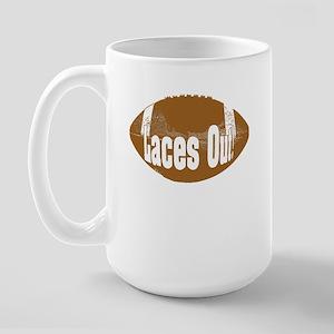 Laces Out! Large Mug