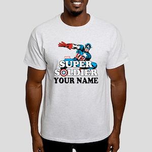 Captain America Super Soldier Person Light T-Shirt
