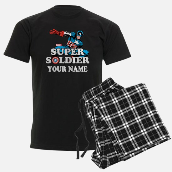 Captain America Super Soldier Pajamas