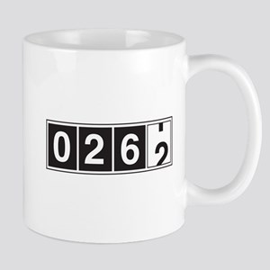 26.2 odometer running Mugs