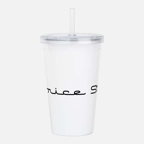 LicoriceStick10x8.png Acrylic Double-wall Tumbler