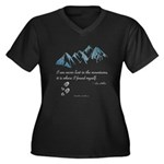 Never Lost in the Mts Plus Size T-Shirt