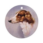Borzoi Portrait Medallion