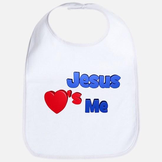Jesus Loves Me Bib