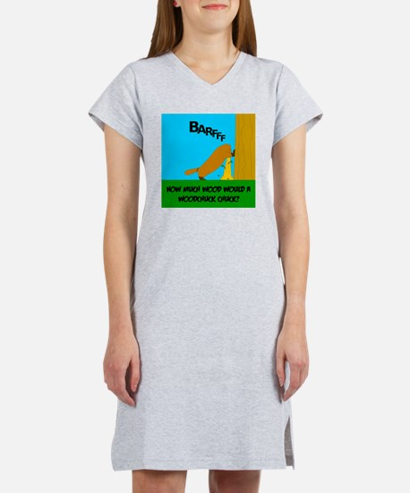 How much wood Women's Nightshirt